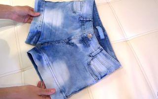 Как отбелить джинсовую одежду