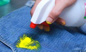Избавляемся от краски на одежде быстро и легко