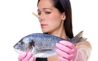 Как убрать запах сырой, жареной и копченой рыбы с рук