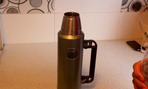 Как и чем отмыть металлический термос от чайного налета внутри