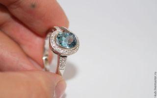 Чистка серебряного кольца в домашних условиях