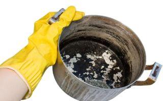 Лучшие способы очистки кастрюли от нагара и жира