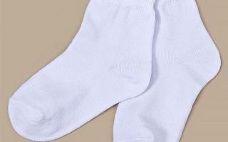 Как и чем в домашних условиях отбелить белые носки