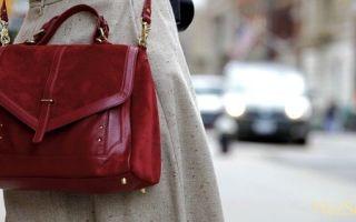 Как правильно чистить замшевую сумочку
