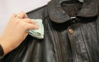 Самостоятельная чистка кожанной куртки: специальные средства и проверенные народные способы
