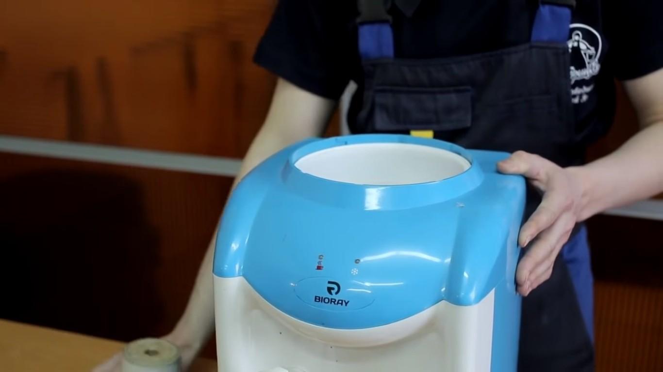 После всех процедур, вода снова будет чиста.