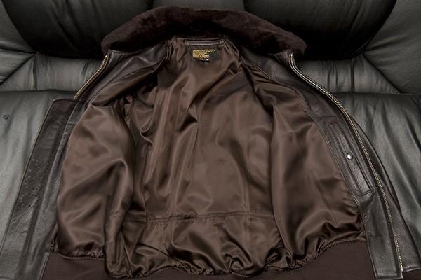 Подкладка куртки после чистки