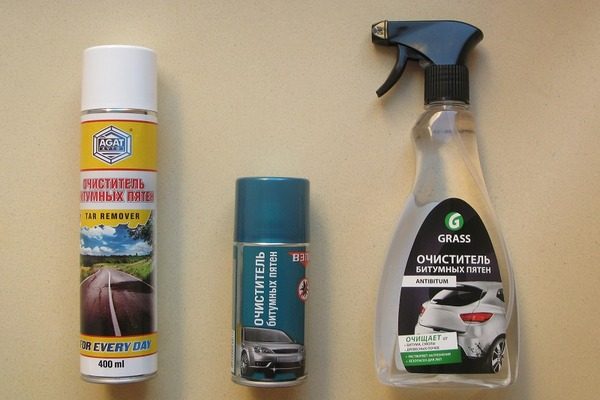 Средства для очистки от битума