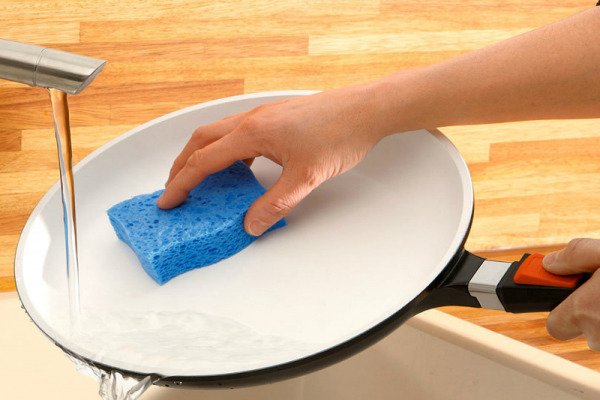Методы чистки керамической посуды