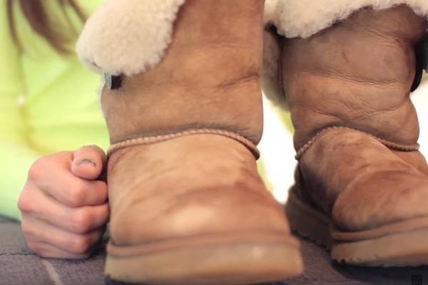 Ухаживаем за удобной зимней обувью