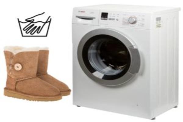 Можно ли стирать в стиральной машинке?