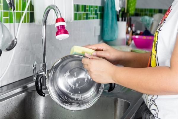 Очистка посуды из нержавейки