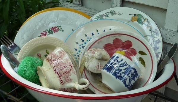 Хранение грязной посуды