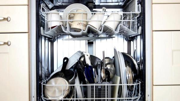 Полная загрузка посудомоечной машины